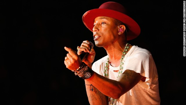 Pharrell Williams is one of several stars who's featured in a rendition of The Beach Boys'