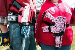 La raza y la cultura de las armas en los Estados Unidos