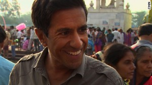 Video: Dr. Sanjay Gupta visits India, Pakistan and Michigan