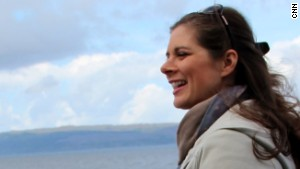 Video: Erin finds her roots on a Scottish isle