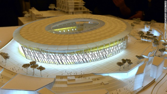 In March 2014, American Pallotta unveiled plans for a new 52,000-seat home stadium for Roma, which shares the Italian capital's Olympic arena with city rival Lazio.