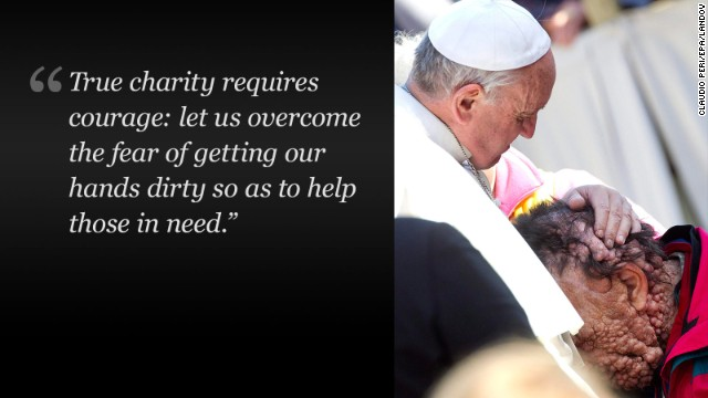 The quotable Pope: 11 most surprising sayings