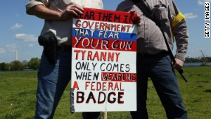 Gun rights advocates say more guns equal less crime.