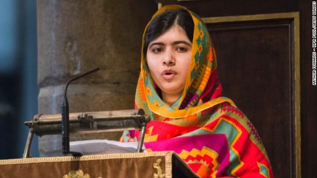 Malala es el nuevo símbolo de esperanza para el mundo
