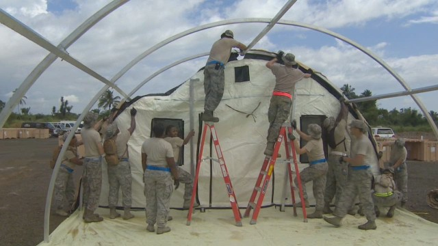 U.S. troops assisting in Ebola mission may be quarantined
