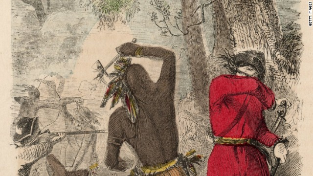 The fear of men of color with guns started early in America with the conquest of Native-Americans, some historians say.