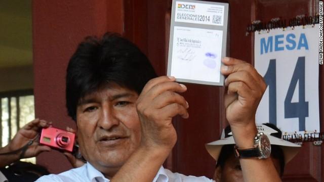 Elecciones generales en Bolivia