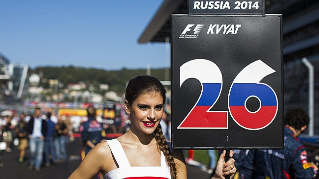 There is a place on the Sochi grid for homegrown racer Daniil Kvyat, who will drive for Red Bull in 2015.