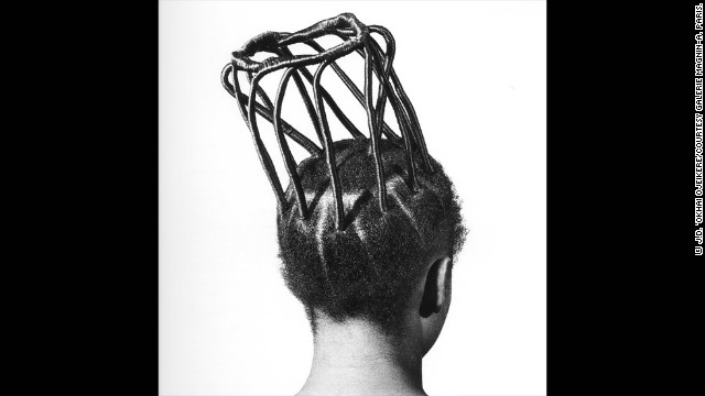 "Meanwhile, a touring exhibition of Ojeikere's ""Hairstyles and Headdresses"" is currently being presented by Hayward Touring Exhibition in the UK. Curator Gillian Fox says: ""Ojeikere was keen in the wake of modernization to capture something that was quite intrinsic to his culture, his nation and he saw the rate of change that was happening and he thought hairstyles were fascinating and an art form in their own right.""<!-- --> </br>"