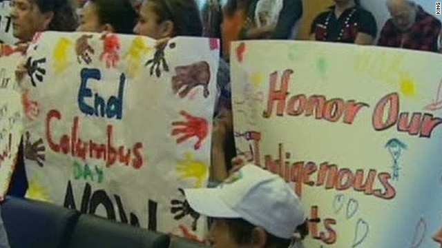 Cities reinvent Columbus Day to honor indigenous people CNNcom