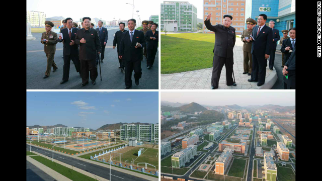 Kim also visited the Natural Energy Institute of the State Academy of Sciences, KCNA said. He hadn't been seen in public since he reportedly attended a concert with his wife on September 3.