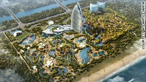 China leads theme park boom