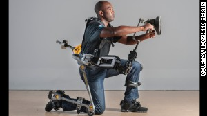 Navy exoskeleton creates superworkers