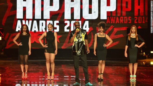 Snoop Dogg was the host of the 2014 BET Hip Hop Awards, which aired Tuesday night.