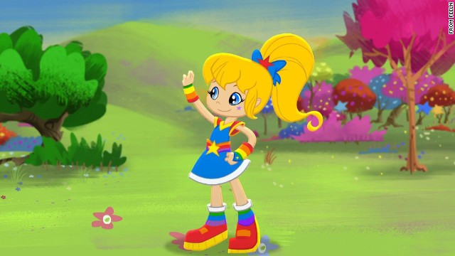 Animated '80s heroine Rainbow Brite is making a comeback on subscription service Feeln.