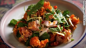 Like the original (pictured), Chachawan\'s Shanghai doppleganger serves northeastern Thai food.