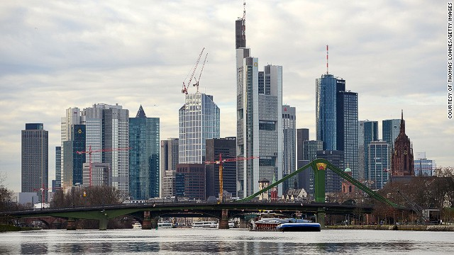 The skyline of Frankfurt, Germany's financial district is a bustling center of growth. As the world's fourth largest economy and with the second lowest unemployment rate in the EU, Germany is undoubtedly holding its own.
