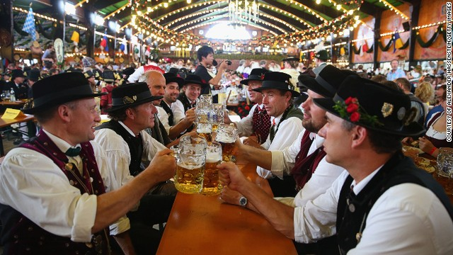 112 oxen, 48 calves and 6.4 million liters of beer were devoured at Oktoberfest this year. As the world's largest annual fair in Europe, a massive 6.3 million visitors traveled from across the world to attend the festival.