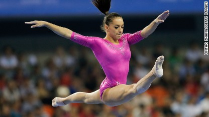 The rise of the 'new Nadia Comaneci'