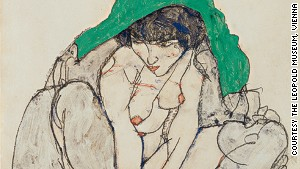 Explicit nude drawings that shook the world