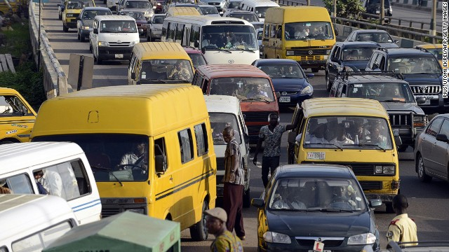 Lagos, a bustling megacity of more than 20 million people, is notorious for its snail-paced traffic.