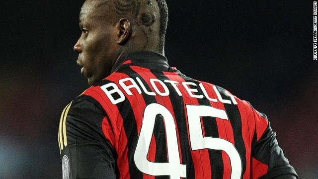 Balotelli's move from City to AC Milan angered Inter fans, who share a stadium with its city rivals. Gandini hailed Balotelli's contribution in his first season at the club as his goal helped it make the European Champions League.