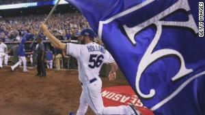Celebrating Royals' World Series return