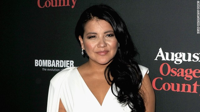 """August: Osage County"" actress <a href='http://www.cnn.com/2014/10/16/showbiz/celebrity-news-gossip/misty-upham-missing/index.html' target='_blank'>Misty Upham</a> was declared dead by a Washington coroner after her body was found along a river in suburban Seattle on October 16."
