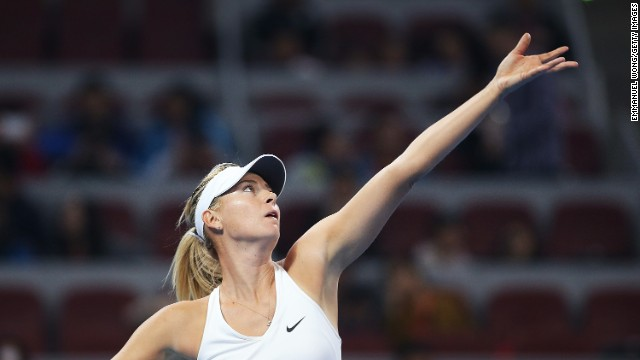 #2: Maria Sharapova: The No. 2 seed arrives in Singapore in good form after winning the China Open. Sharapova isn't just a hard court player -- she's had a lot of success on clay during the later stages of her career. In June, she added a fifth grand slam trophy to her cabinet when she won the French Open.