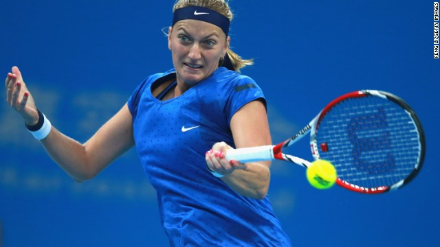 #3: Petra Kvitova: The Czech Republic star is hoping to win the WTA Finals title like she did in 2011. In July, Kvitova beat Genie Bouchard in straight sets in a mere 55 minutes to claim her second Wimbledon title, three years after her first.