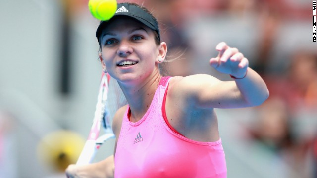 #4: Simona Halep: The Romanian has qualified for the WTA Finals for the first time in her career. She started the year outside the top 10 -- then shot up the rankings to No. 2 in the world. Halep advanced to the French Open final in June before losing to Sharapova.