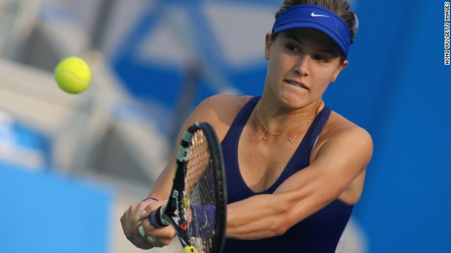 #5: Eugenie Bouchard: The 20-year-old Canadian has had a stellar year after reaching the Australian Open and French Open semifinals before her Wimbledon final defeat by Kvitova. Bouchard is the youngest competitor in the draw.