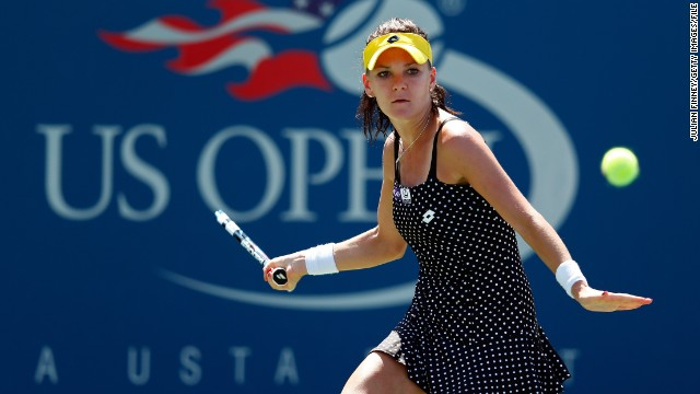 #6: Agnieszka Radwanska: Poland's top female player won the Rogers Cup in August in Montreal, but didn't have the results at the slams that she'd been hoping for.