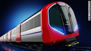London's new spaceship-style Tube designs