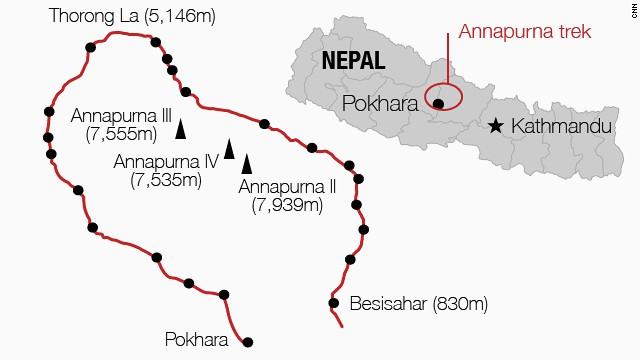 Death toll climbs in Himalayas...