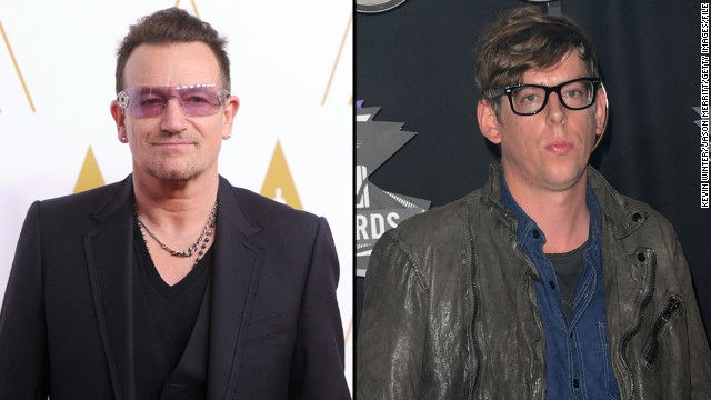 "Add Black Keys drummer Patrick Carney, right, to the list of musicians unimpressed with U2's attempt to give away an album on iTunes. <a href='http://blogs.seattletimes.com/soundposts/2014/10/15/black-keys-drummer-patrick-carney-u2-and-spotify-devalue-music/' target='_blank'>Carney told The Seattle Times</a> that he believes the band, fronted by Bono, ""devalued their music completely"" by offering the new release ""Songs of Innocence"" as a free download to iTunes subscribers."