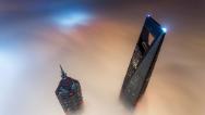 Fotos osadas de los rascacielos desde arriba