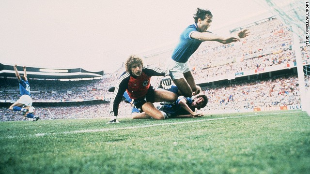 The match was won by Italy, who beat West Germany 3-1 in the only World Cup final the Bernabeu has ever ever hosted.