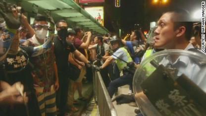 'External forces' blamed for HK protests