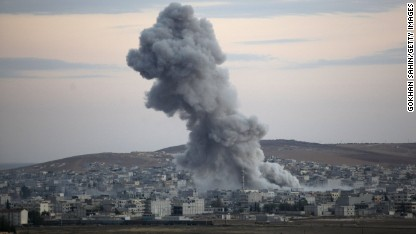 Kobani: U.S. airdrops weapons, supplies
