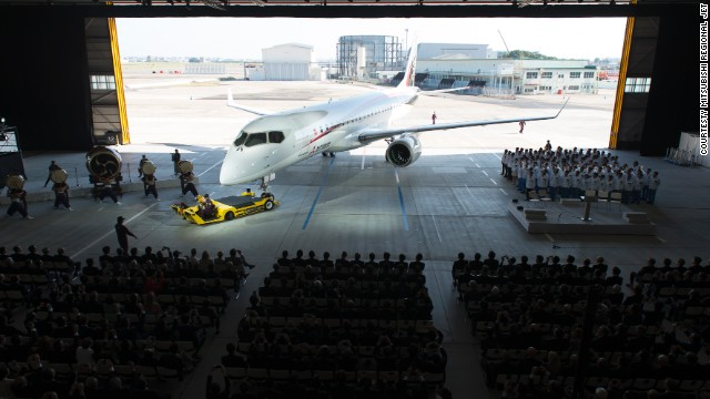 Japan's first commercial airliner in 50 years, the Mitsubishi MRJ90, is set to enter flight testing in 2015.