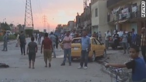 At least 21 dead in suicide bombing