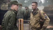 "Brad Pitt triumphed over Ben Affleck at the box office this weekend as ""Fury"" ousted ""Gone Girl"" from its two-week ride as the nation's No. 1 movie."
