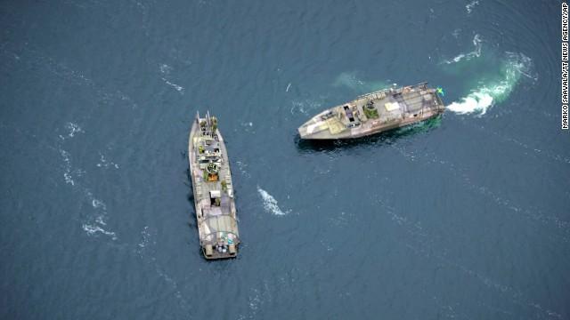 Un submarino misterioso pone en alerta a las fuerzas armadas suecas
