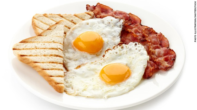 Munching in the morning doesn't have a direct effect on dropping pounds.