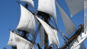 Captain Cook's Endeavour found?
