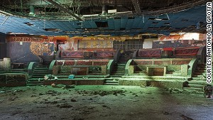 The decaying splendor of abandoned nightclubs
