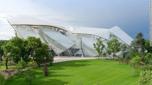 Fondation Louis Vuitton -- the philanthropic wing of luxury conglomerate LVMH -- is opening a new contemporary art museum in Paris, designed by world-renowned architect Frank Gehry.