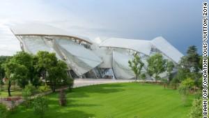 Fondation Louis Vuitton's striking art museum