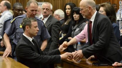 Pistorius sentenced to 5 years in prison